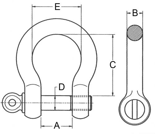 Schaekel-geschweifte-Form-mit-Augbolzen_zeichnung