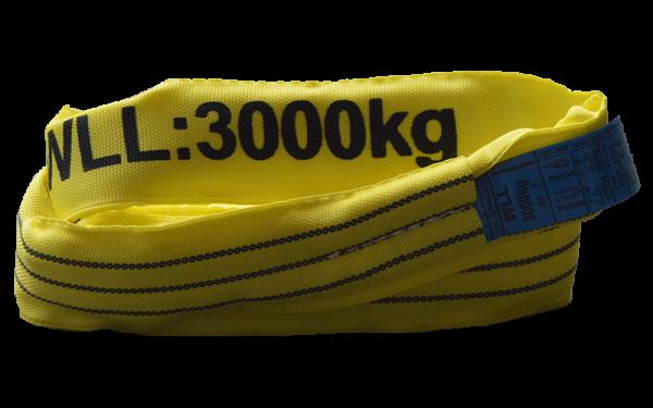 Rundschlinge Basic Plus 3.000 kg mit Einfachmantel