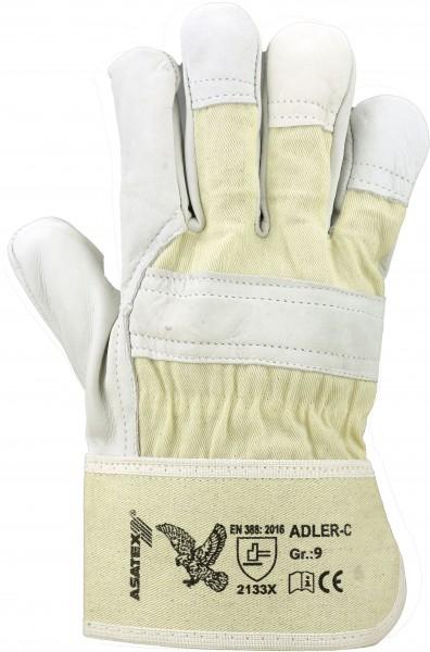 ADLER-C ADLER-CLASSIC - Rindnarbenlederhandschuh,